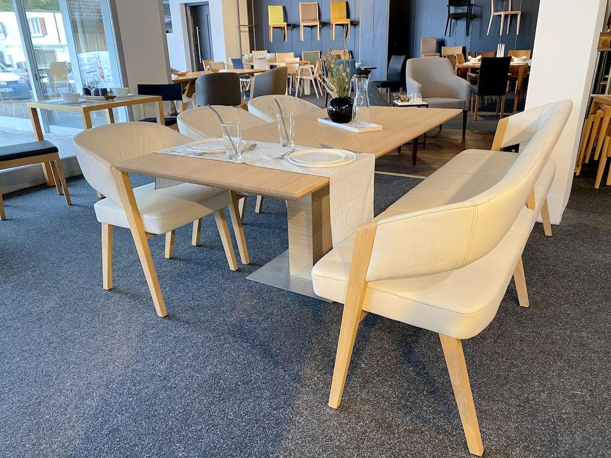 Esszimmermöbel von Längle Hagspiel im der Küchenwelt Markant in Dornbirn, Vorarlberg