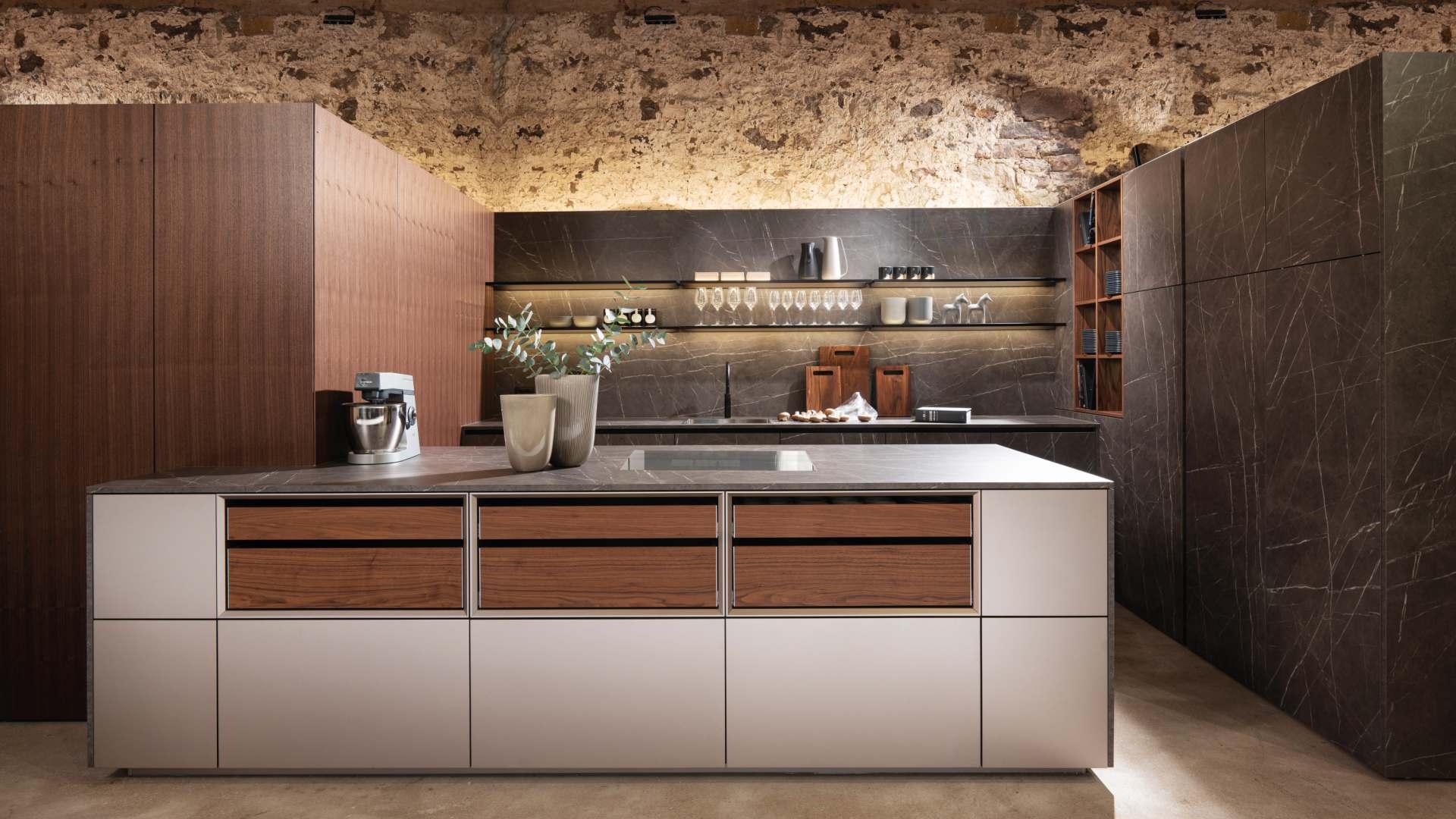 Warendorf Küche beim Miele Center Markant in Dornbirn