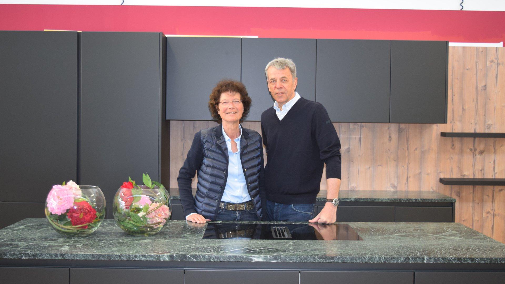 Barbara und Helmut Auernig Geschäftsführung des Miele Center Markant