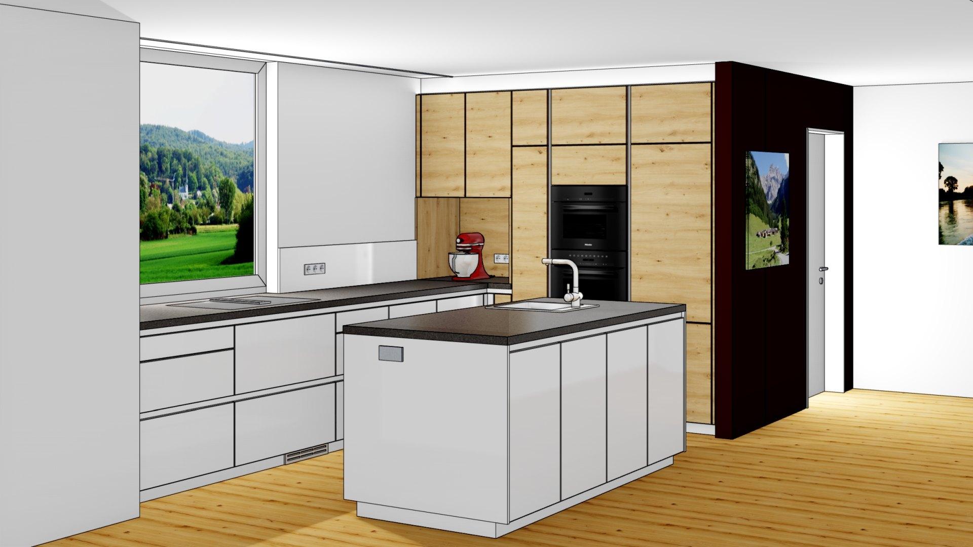 3D-Küchenplanung für Ihre Küche in Dornbirn, Vorarlberg