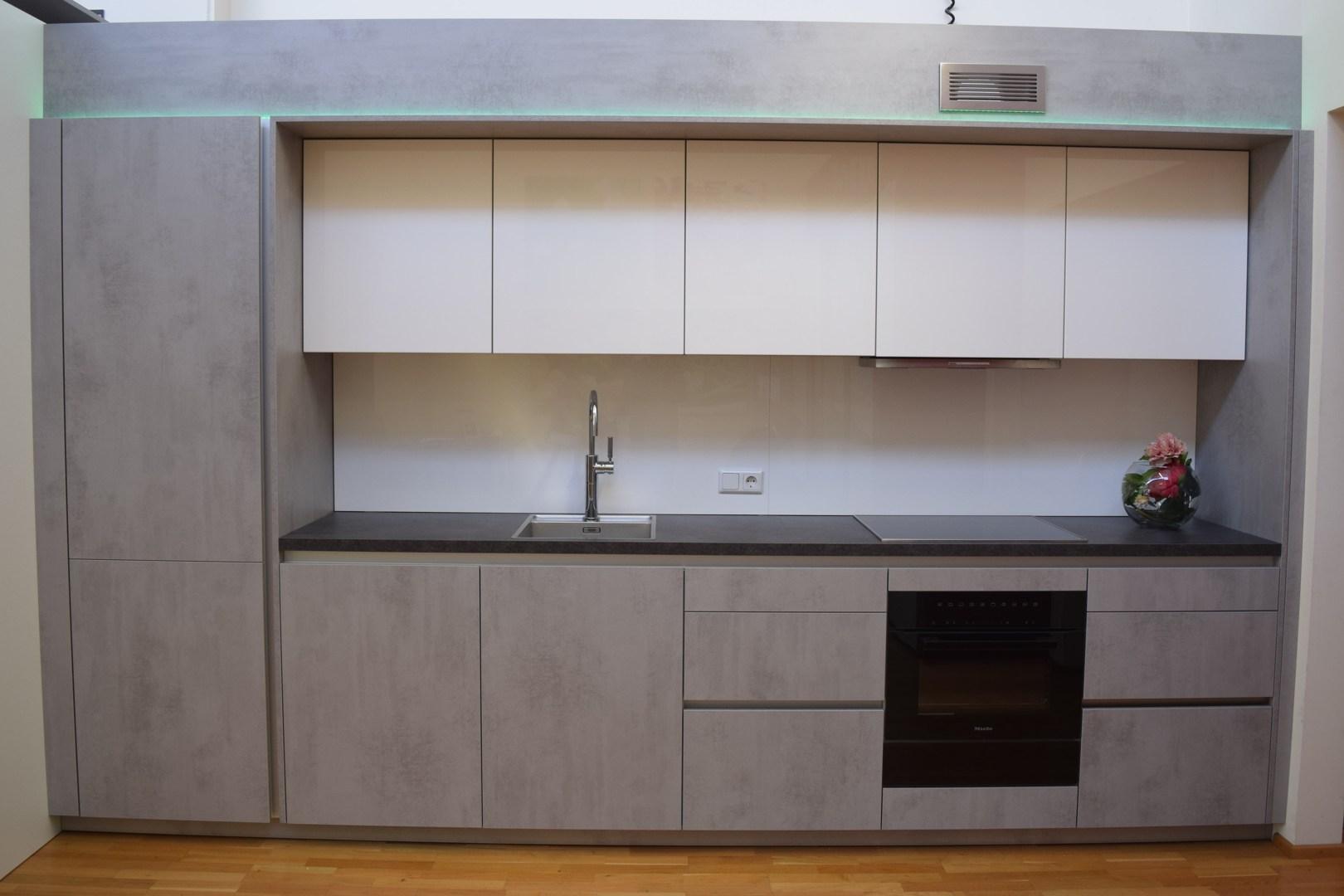 Austellungsküchen im Schauraum der Küchenwelt Markant in Dornbirn